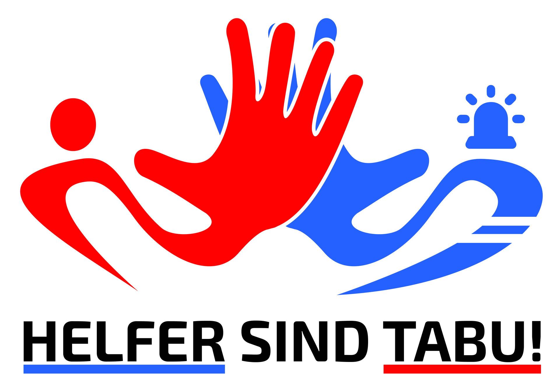 Helfer sind Tabu Logo