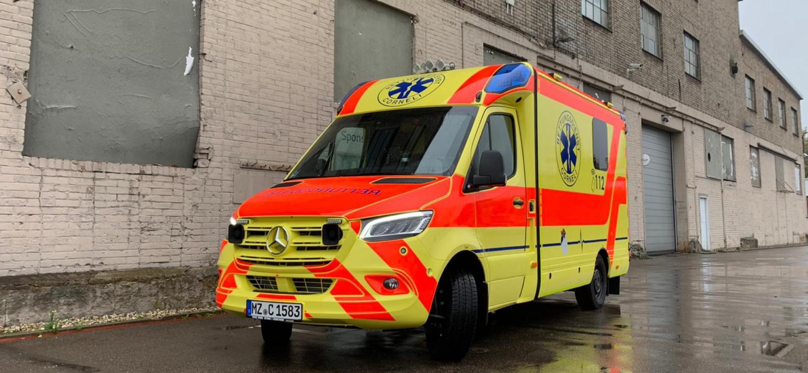 neuer Rettungswagen